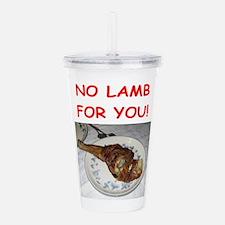 lamb Acrylic Double-wall Tumbler