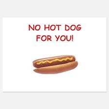 hot dogs Invitations