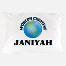 World's Greatest Janiyah Pillow Case