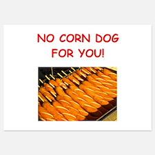 corn dog Invitations