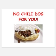 chili dog Invitations