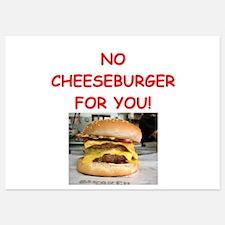 cheeseburger Invitations