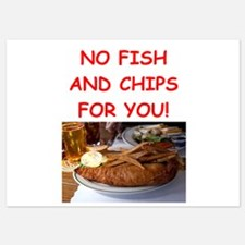 FISH CHIPS Invitations