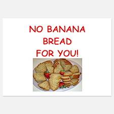 banana bread Invitations