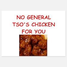 general tso chicken Invitations