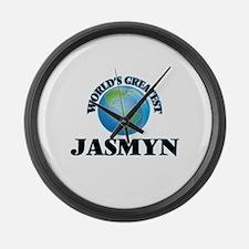 World's Greatest Jasmyn Large Wall Clock