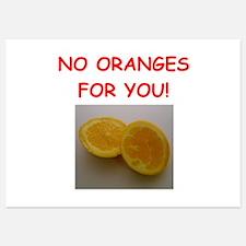 orange Invitations