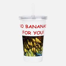 banana Acrylic Double-wall Tumbler