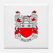 BACON 2 Coat of Arms Tile Coaster
