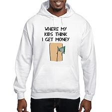 Where my kids money Hoodie Sweatshirt