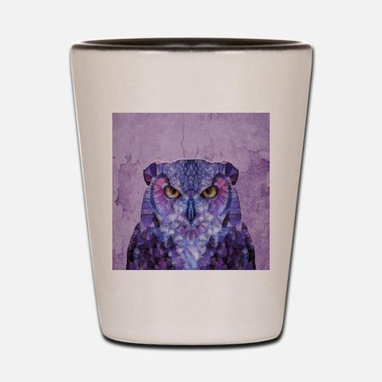 Unique Owl Shot Glass