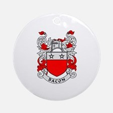 BACON 2 Coat of Arms Ornament (Round)