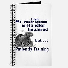 Irish Water Spaniel Agility Journal