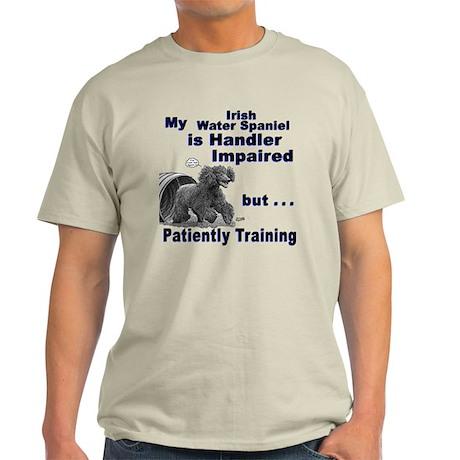 Irish Water Spaniel Agility Light T-Shirt