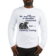 Irish Water Spaniel Agility Long Sleeve T-Shirt