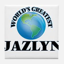 World's Greatest Jazlyn Tile Coaster