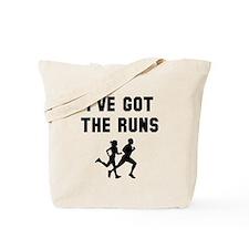 I've got the runs Tote Bag