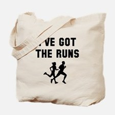 I've got the runs Tote Bag