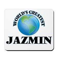 World's Greatest Jazmin Mousepad