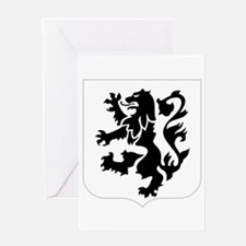 28th_Infantry_Regiment-logo Greeting Cards