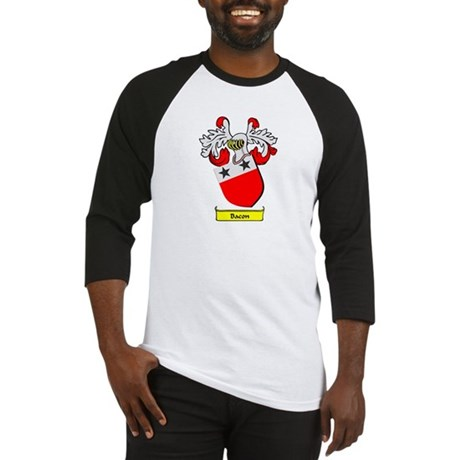BACON 1 Coat of Arms Baseball Jersey