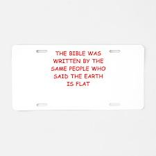 Funny Aclu Aluminum License Plate