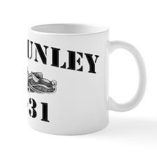 USS HUNLEY Mug