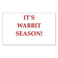 wabbit season Decal