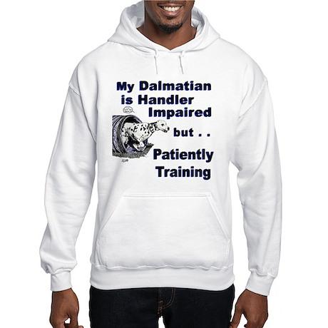 Dalmatian Agility Hooded Sweatshirt