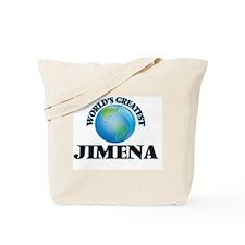 World's Greatest Jimena Tote Bag