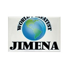 World's Greatest Jimena Magnets