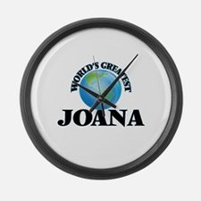 World's Greatest Joana Large Wall Clock