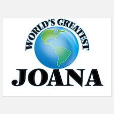 World's Greatest Joana Invitations