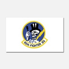 95th_fs_patch.png Car Magnet 20 x 12