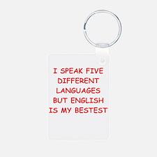 english Keychains