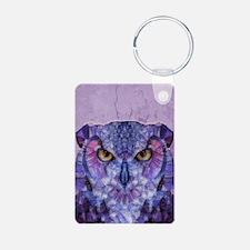 Unique Purple owl Keychains