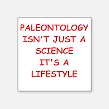 """PALEONTOLOGY Square Sticker 3"""" x 3"""""""