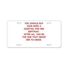 birthday Aluminum License Plate