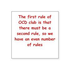 """ocd Square Sticker 3"""" x 3"""""""