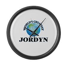 World's Greatest Jordyn Large Wall Clock