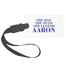 The Man Myth Legend AARON-bod blue Luggage Tag