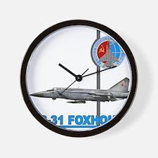 Unique Mig Wall Clock