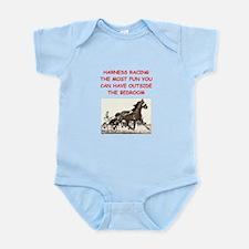 harness racing Infant Bodysuit