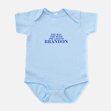 The Man Myth Legend BRANDON-bod blue Body Suit