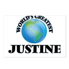 World's Greatest Justine Postcards (Package of 8)