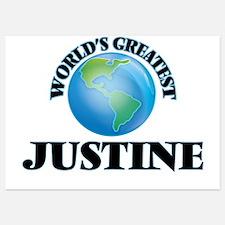 World's Greatest Justine Invitations