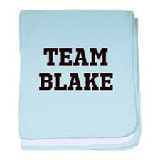 Team Name baby blanket
