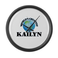 World's Greatest Kailyn Large Wall Clock