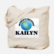 World's Greatest Kailyn Tote Bag
