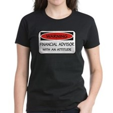 Attitude Financial Advisor Tee